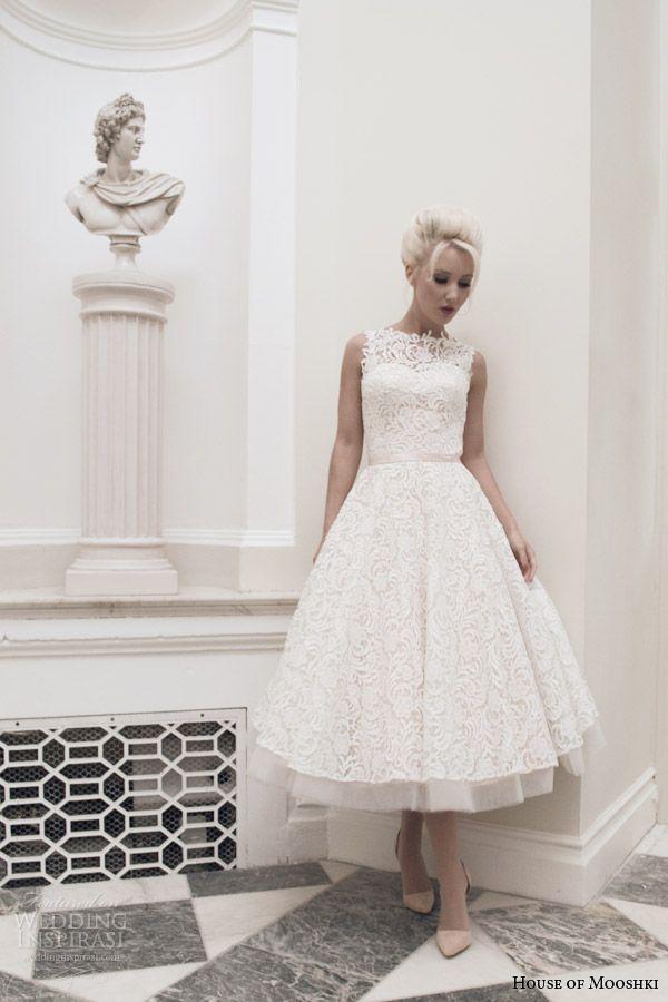157 besten Short Wedding Dresses Bilder auf Pinterest ...