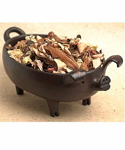 Pomaire Pottery Pig Dish (Chile)