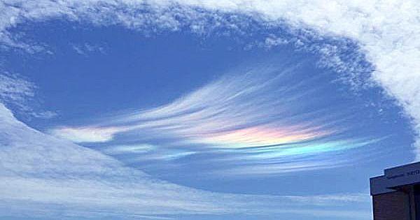 超レアな雲『スカイパンチ』の中に虹が! オーストラリアで多数目撃され話題 – grape [グレープ] – 心に響く動画メディア