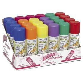 Neon Hair Spray - Assorted