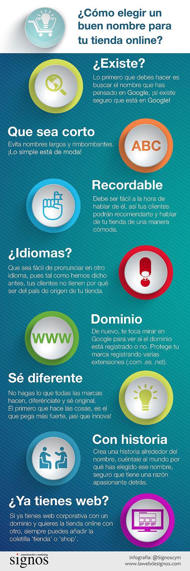 Cómo elegir un buen nombre para tu tienda online  Ideas Negocios Online para www.masymejor.com