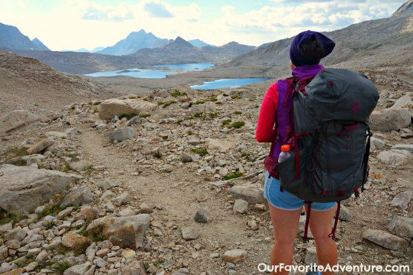 Female packing list for a John Muir Trail Thru-Hike by Kathleen of Our Favorite Adventure
