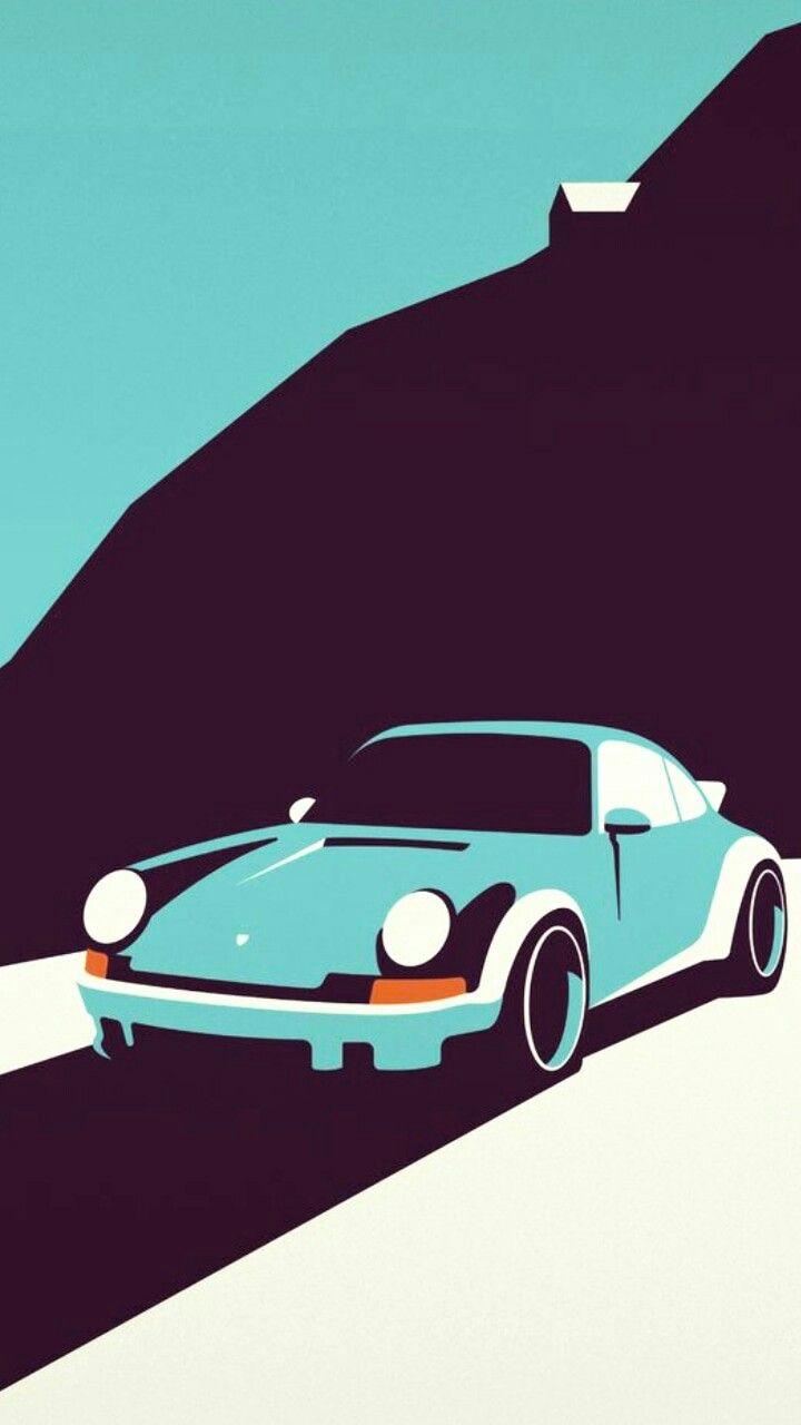 Pin By Emmajootaeyang On Wallpapers Hd Art Cars Automotive Illustration Porsche 911