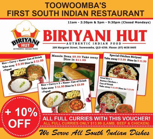 indian food Toowoomba