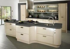 krem rengi mutfak ornekleri dolap tezgah ve duvar rengi uyumu modern country klasik mutfaklar (5)