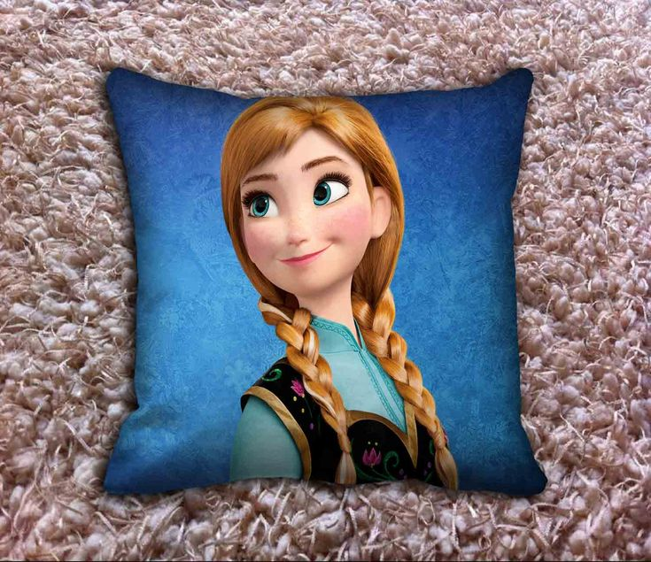 Disney Frozen Queen Anna Back Cover Pillow Covers //Price: $12.50 //     #Tshirt