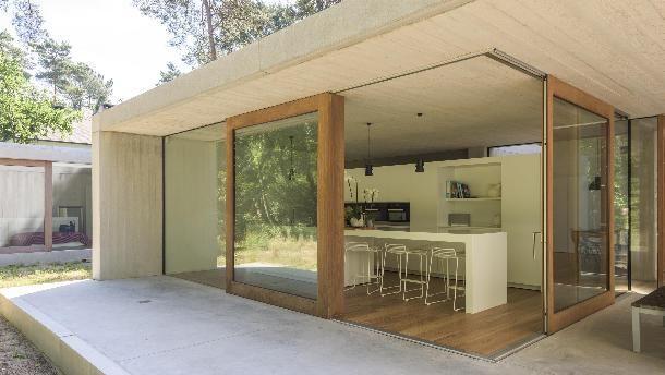 Woonhuis Zand in Keerbergen (B) door sculp[IT] architecten - alle projecten - projecten -         de Architect