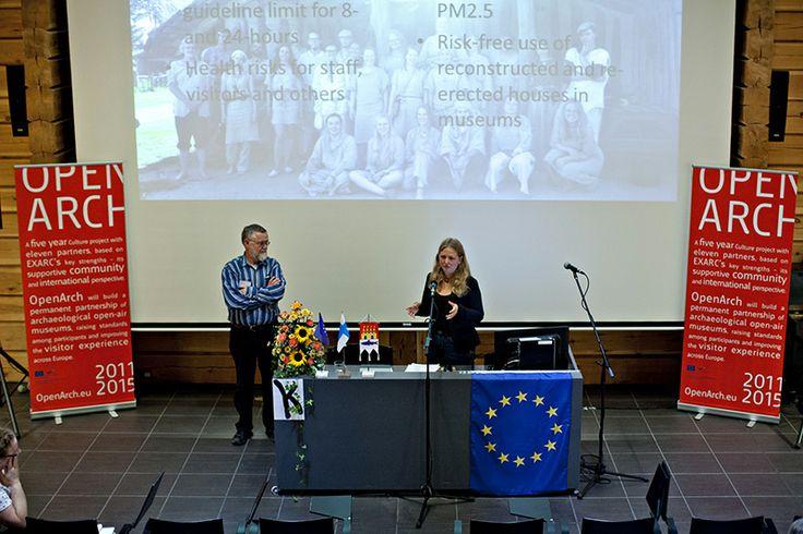 Kolmen konferenssipäivän aikana Kierikkikeskuksen auditoriossa oli kaikkiaan 19 esitystä.  Oulu (Finland)