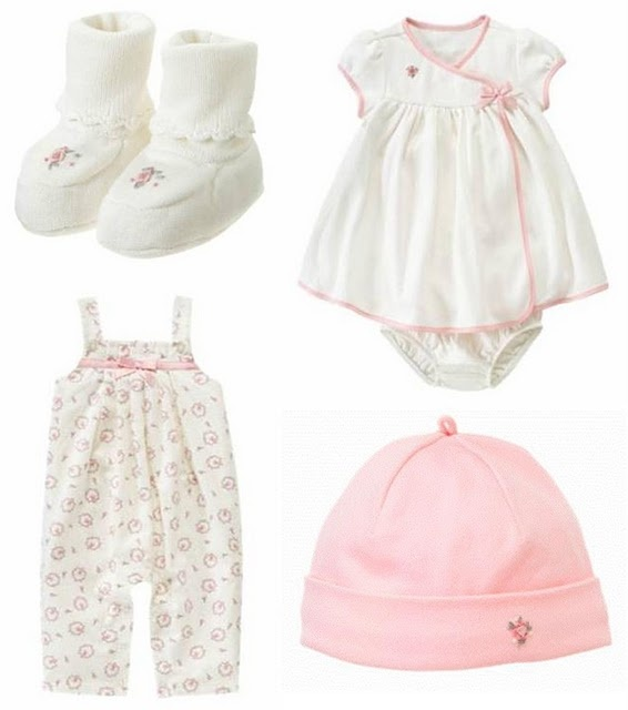 Janie and Jack layette, I love these outfits want my baby to be in onesies and adorable frilly clothes