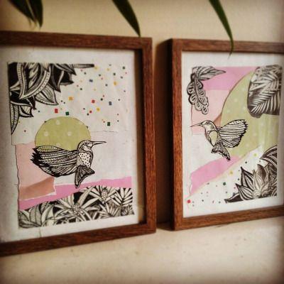 Love bird series  Perfect valentines pressie
