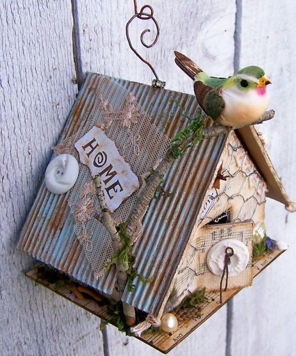 17 Best Images About Altered Birdhouses On Pinterest