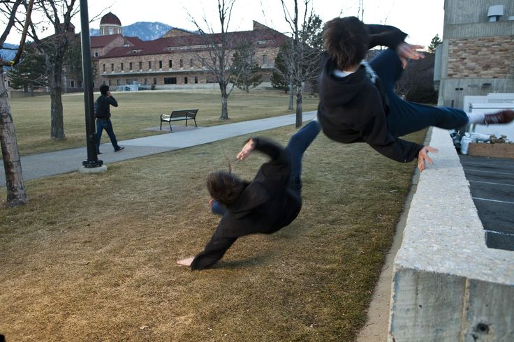 To fail is not simply to be human. To fail is to exist. Failure is an  essential element of the learning process, and failure in Parkour usually  involves a good bail.