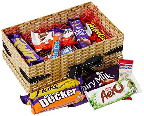 Happy Birthday 25 Pieces Mega Chocolate Bar Hamper Box  Full Of The Top Favorite Chocolate Bars Loved By Everyone  The Perfect Birthday Present - By Moreton Gifts