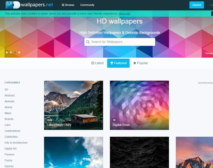 The 10 Best Wallpaper Sites for Your Computer: HDwallpapers.net