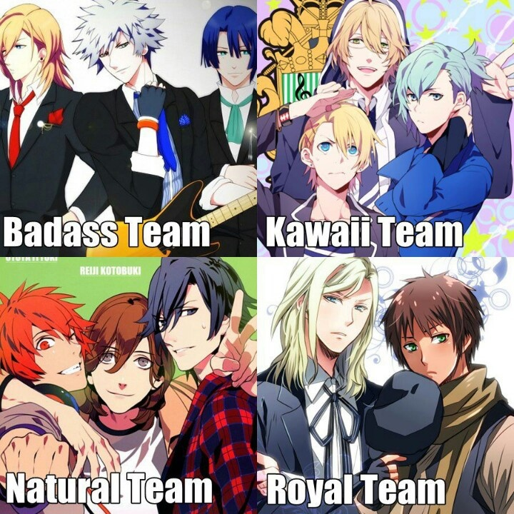 Anime Characters 2000 : I m having a hard time deciding between the natural team
