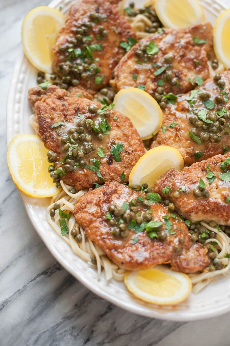 This paleo pork scaloppine with caper butter sauce is like chicken piccata, but better. It comes together in half an hour so you can enjoy it on busy weeknights! Monday has reared its ugly head once again. If you've got a case of the blues, I have just the thing for you: paleo pork scaloppine. …