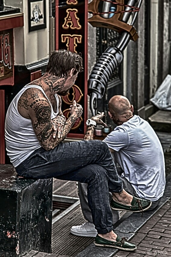 54 best anchored ink images on pinterest for the home for Amsterdam tattoo artists