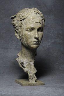 Sculpteur : Christophe Charbonnel - Eurydice, 2012