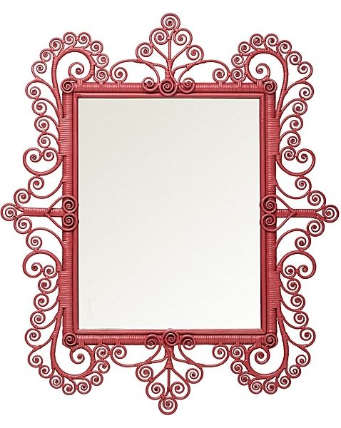 Peacock Scroll Mirror