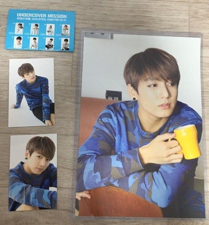 BTS Undercover Mission Japan Official Fanmeeting Vol 02 Jungkook Set   eBay