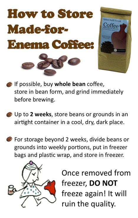 aussie health coffee enema instructions