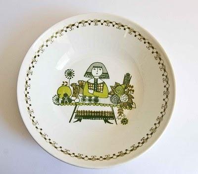 "Figgjo Norway ""Market"" Design  Bowl"
