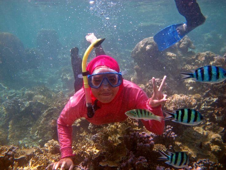 Snorkeling in Karimunjawa Indonesia