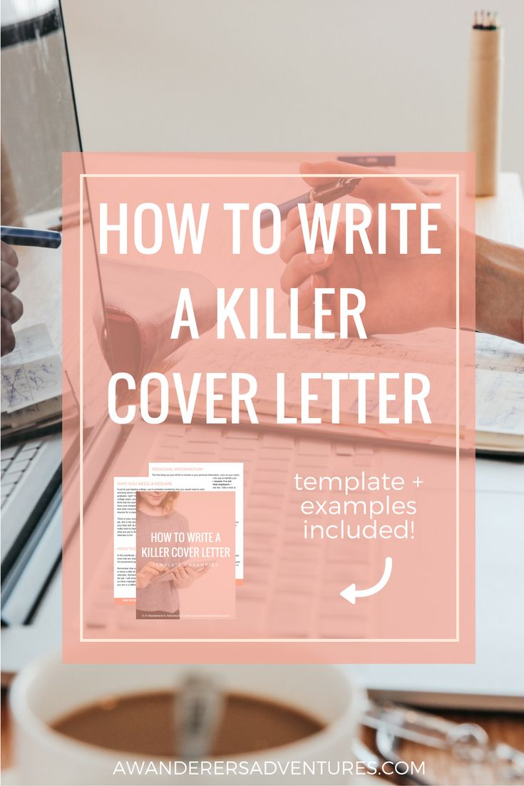 Writing the perfect cover letter is hard. But I think I've mastered the art of impressing employers. Click through to find out how to write a killer cover letter and get a free work book with a template for your cover letters and 3 examples!
