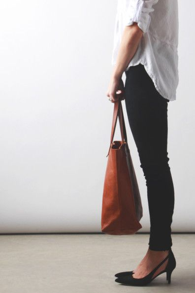 Madewell Transport Tote - The Perfect Leather Carryall | Perpetually Chic