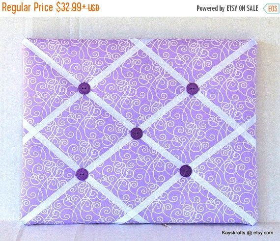 15 % Rabatt auf Verkauf lila Schnörkel Memory Board von kayskrafts