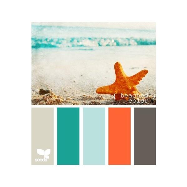Astonishing 17 Best Ideas About Beach Color Schemes On Pinterest Ocean Color Largest Home Design Picture Inspirations Pitcheantrous