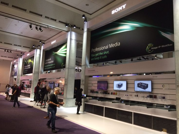Event Design For Professional Sony Europe At IBC 2016