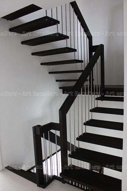 les 25 meilleures id es de la cat gorie escalier 2 quart. Black Bedroom Furniture Sets. Home Design Ideas