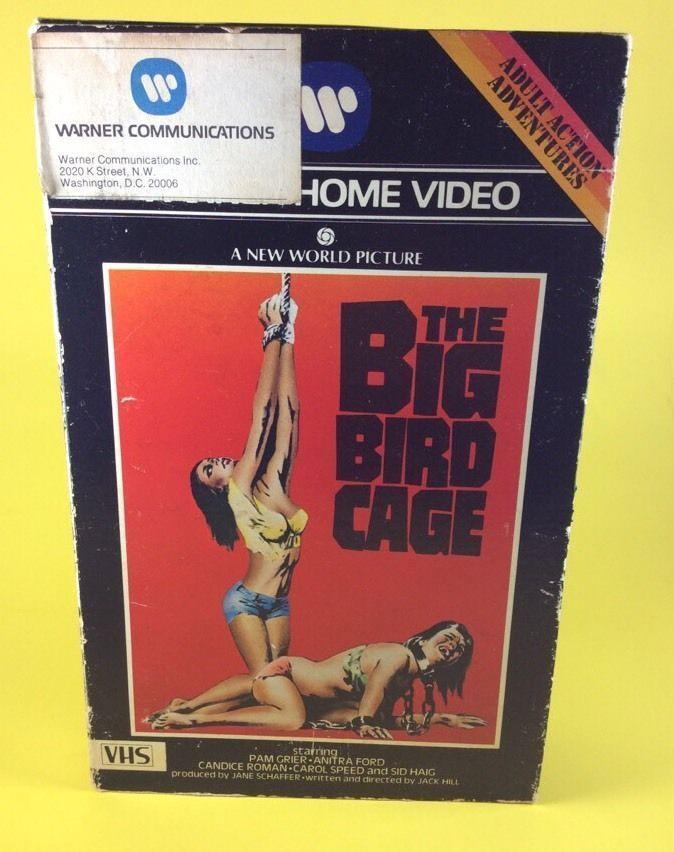 The Big Bird Cage Warner Home Video VHS Big Box Cult Women in Prison