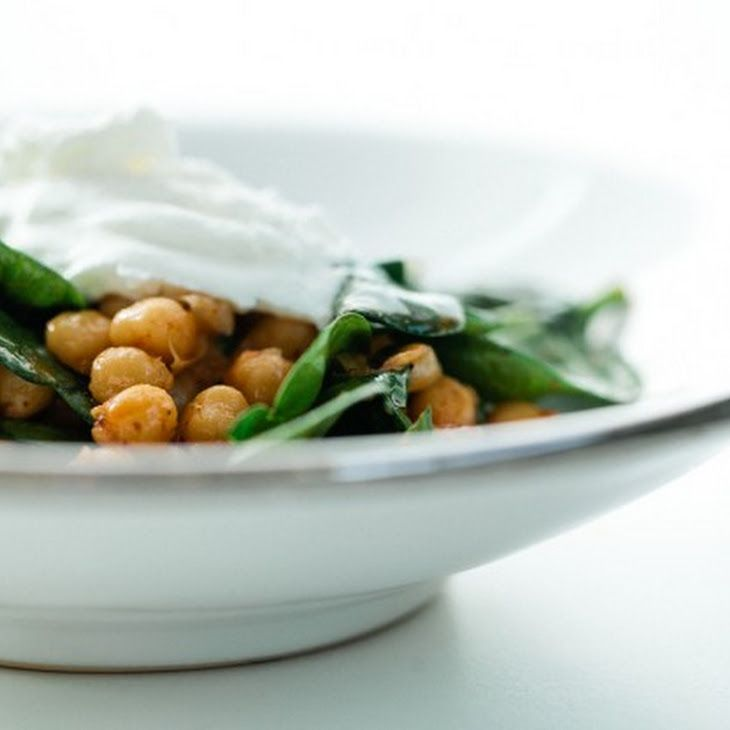 Harissa Chickpeas with Spinach | Food, Glorious Food.... | Pinterest