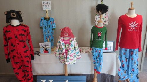 Hatley pajamas at Rev Communications event