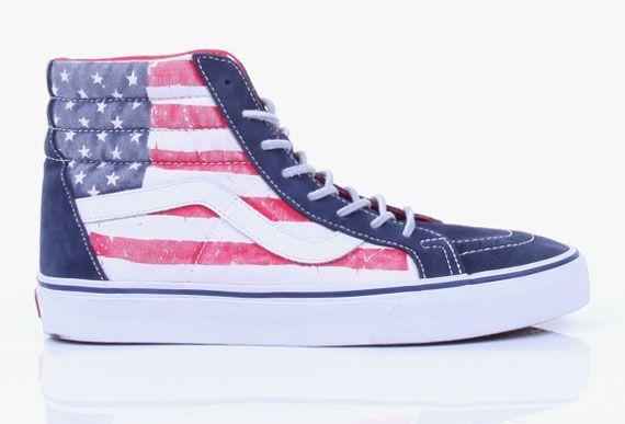 Vans Sk8 Hi American Flag