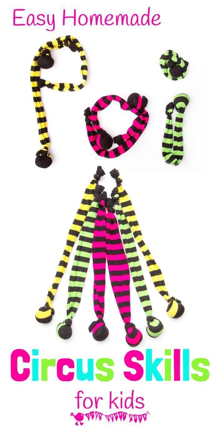 How To Make Sock Poi - Kids Circus Skills