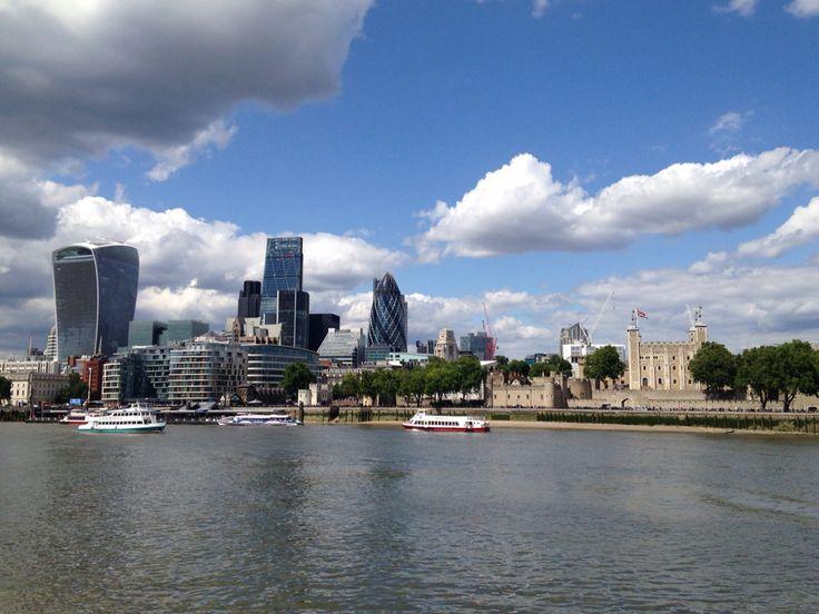 La torre de Londres. Y la city
