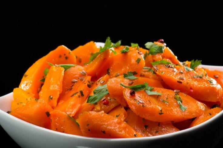 Μαροκινά γλασαρισμένα καρότα - gourmed.gr