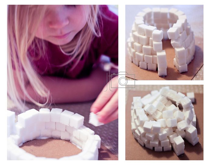 6. 5.2 things for play and learning Sugar cube igloo - fine
