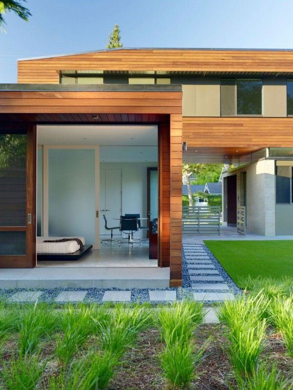 Wooden Exterior Ideas from Modern Family House with Fresh Home Innovation 600x800 Modern Family House with Fresh Home Innovation