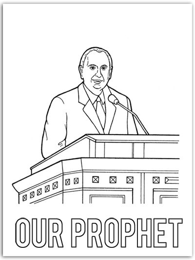 President monson coloring page murderthestout for President monson coloring page