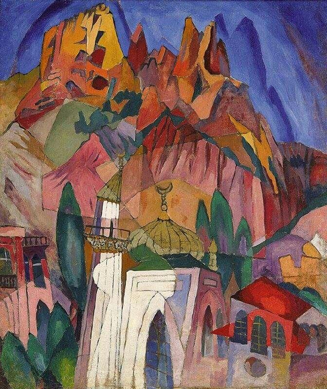 Aristarkh Lentulov (1882-1943) +