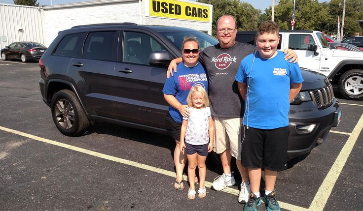 Allen and Cheri's new 2017 JEEP GRAND CHEROKEE! Congratulations and best wishes from Kunes Country CJDR of Oregon and DON WARNER.