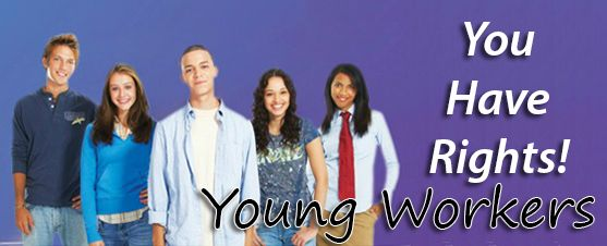Young workers have rights
