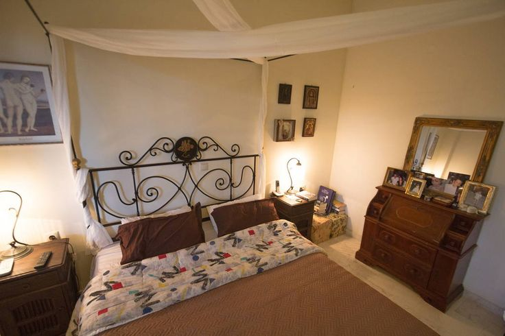 Check out this awesome listing on Airbnb: Lux home with 2ac. garden in Chania - Villas for Rent in Chania