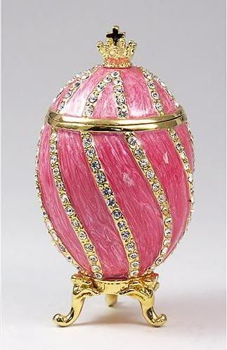 Pink Faberge Egg