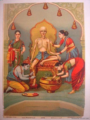 Ravi Varma Litho Sudama Krishna 27027 Check My Store 3000 Items | eBay