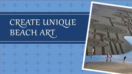 Making (or should I say, raking) beach art is easy! Visit me on Skillshare.com and learn how!